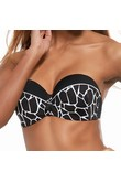 Amy balkonette bra bathing strapless, Krisline