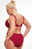 Krisline Beach bra bathing soft-bordeaux