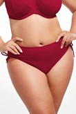 Krisline Beach briefs bathing midi-bordeaux