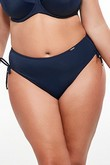 Beach briefs swim midi navy blue, Krisline