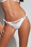 Beach briefs swim mini white, Krisline