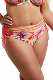 Krisline Papaya briefs bathing midi